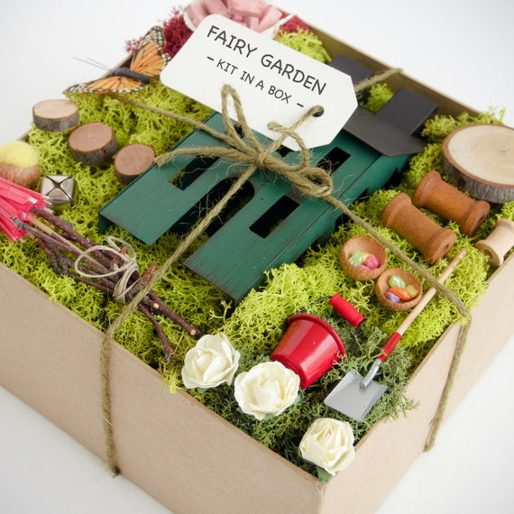 Fairy garden kit fairy garden accessories fairy garden - Garden decor accessories ...