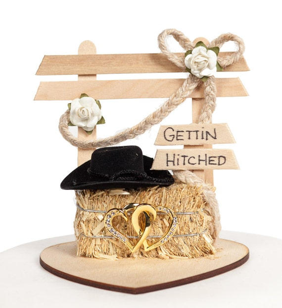 Western Affection Wedding Cake Topper - 70412