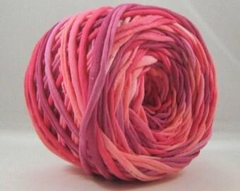 T Shirt Yarn Hand Dyed60 yards - Anne