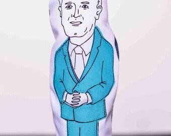Brian Mulroney finger puppet