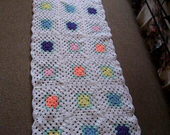 CROCHETED FLOWER SHAWL Pattern