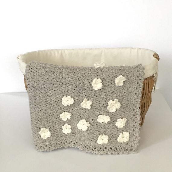 Crochet Flower Girl Basket Pattern : Crochet pattern blanket beginner flowers