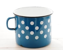 articles populaires correspondant mug m tal maill sur etsy. Black Bedroom Furniture Sets. Home Design Ideas