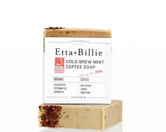 Ritual Roasters Mint Coffee Soap Organic Ingredients 5 oz