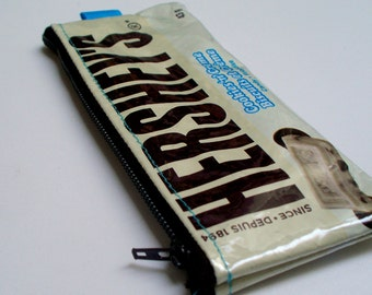 Coin Purse UPCYCLED Hersheys Cookies and Creme candy bag RECYCLED into change purse coin purse