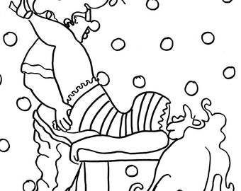 the butterfly funny sexy coloring pages for adults from the chubby art cartoon colouring book
