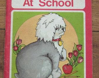 Vintage 70s MR. MUGS Series Mr. Mugs At School level 5 no. 1 school reader children