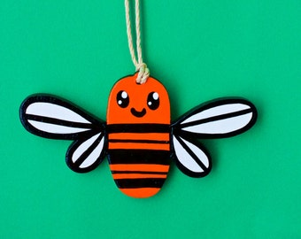 LIMITED EDITION: Bumble Bee Mini Painting
