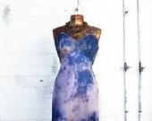 Medium Upcycled Romantic Fairy Dress/ Fairy/Hippie Clothing/Hippie Dress/Fairy Dress/Blueberry Sundress/ Upcycled Dress/Romantic Sundress