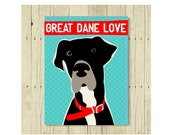 Great Dane Magnet, Great Dane Gift, Dog Lover Gift, Great Dane Art, Small Gift Magnet, Fridge Magnet, Refrigerator Magnet, Great Dane Lover