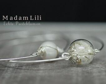 Silver Plated Dandelion Bracelets in Double Package