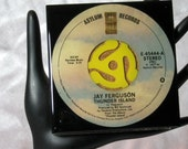 Jay Ferguson - Very Cool Drink Coaster Made with The Original 45 rpm Record