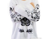 Larry Stylinson Tattoo Sweatshirt Sweater Crew Neck Shirt – Size S M L XL
