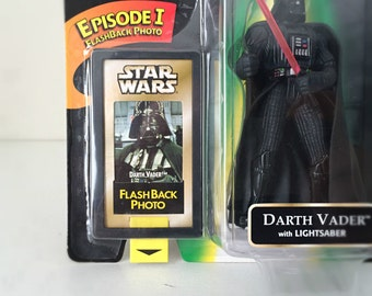 Star Wars Darth Vader Action Figure - Star Wars Toy for Kids, Fathers Day Gift, Kenner Star Wars Toy, Anakin Skywalker - I Am Your Father