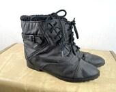 Vegan Vintage Woodbridge 80s Winter Snow Booties Boots -  Size 8