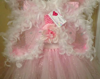 Pink Feather Fairy