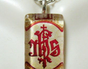 IHS pendant with chain - GP09-076