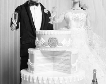 Let's Get Married Barbie & Ken! Fine Art Photograph