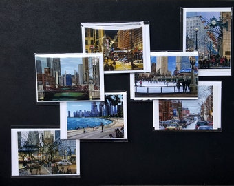 Fine Art Chicago Note Cards Variety Pack of 28