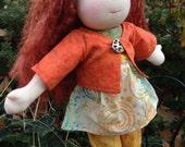Wadorf Doll 13 Inch Waldorf Inspired Noble Doll Fia