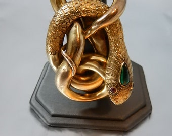 Grand Victorian Snake Bangle Bracelet SALE