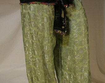 Small Harem Pants, Petite Belly Dance Costume, Pantaloons, Gypsy Costume, Renaissance Belly Dance Costume, Belly Dance Pants, Ren Faire