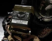 Earth and Wild Roots Gypsy Alchemy Natural Perfume Oil 1/2 oz Fig,Orris,Mushroom,Tonka,Mint,Vanilla,Agarwood,Oakmoss,Cedarwood,Amyris,Myrrh