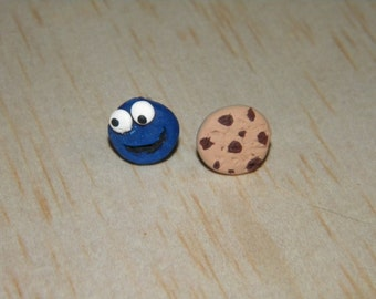 Cookie Monster and his favorite Treat