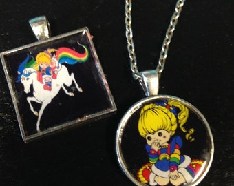 Rainbow Brite necklaces!