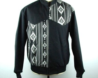 Black and White Southwestern Style Jacket by Mo Betta