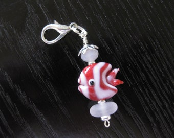 Swim with Dory, Journal Planner Charm Purse Charm Zipper Pull
