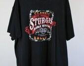 SALE - Vintage Sturgis Bike Week Rally Tee Shirt - Mens Size Large