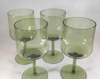 Crystal Modernist Wine Glasses - 10 oz Size