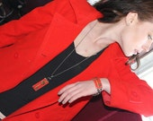 Bracelet by FortuneKeeper - Key of Success- Adjustable Bracelet Holds All That Inspires You
