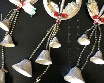 Vintage foil and mercury wreaths