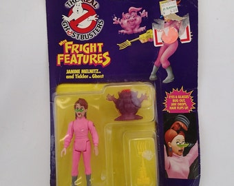 The Real Ghostbusters Jenine Melnitz Tickler Ghost By Kenner Fright Features Girl Woman Ghost Busters