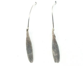 ash seed earrings: single