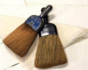 Vintage Metal Handle Brooms