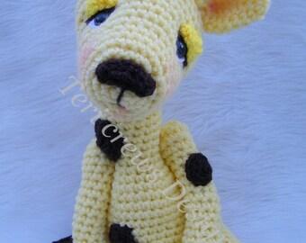 Simply Sweet Giraffe Crochet Pattern by Teri Crews Instant Download Digital PDF