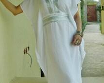 Caftan Kaftan Dress-Luxury loungewear, as resortwear,spa robe, wedding,beach cover up, summer dress, kaftan ,Birthdays or Maternity Gifts