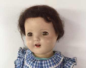 Antique Composition Doll c.1940s By Gatormom13