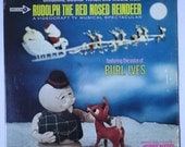 """Rare """"Rudolph the Red Nosed Reindeer"""" Vinyl Soundtrack (1964) - Near Mint"""