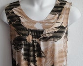 M-2X - Post Surgery Nightgown - Breast Cancer, Shoulder Surgery / Special Needs - Hospice,  Elderly / Breastfeeding / Stroke - Style Heidi