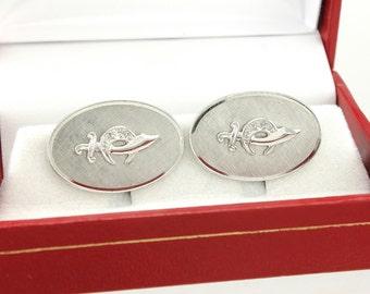 Shriner Cufflinks - Vintage Sterling Silver