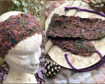 Pixie Head Band, Hair Band, Dread Band, Dread wrap, Fairy lace