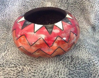 Five Colored Gourd Bowl