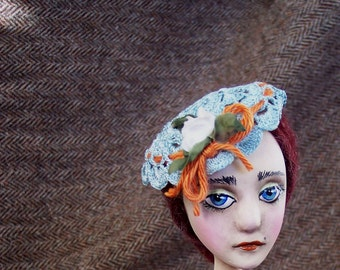 Painted Lady Candlestick Doll: Olive