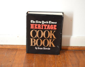 The New York Times Heritage Cook Book by Jean Hewitt 1972