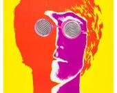 """John Lennon portrait by Richard Avedon  - 13""""x19"""" or 24""""x36"""" - The Beatles John Lennon - 60's pop art Psychedelic Poster art"""