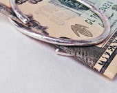 Sterling Silver Money Clip Ring A